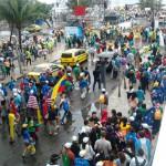 Caminhada da JMJ: uma manifestação de paz