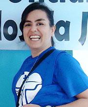 Elienai Carmo - Voluntária da JMJ