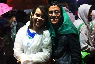 Débora e Tiago de Penambuco (Foto: Canção Nova)
