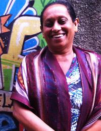 Dona Francisca, uma das idealizadoras do Museu de Favelas (Foto: Daniel Machado/CN)