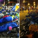 JMJ: Jovens dormem na Praia de Copacabana