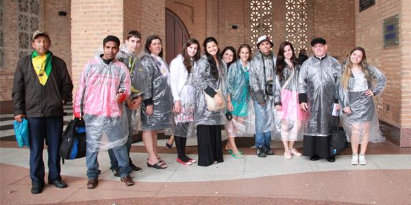 Jovens do RJ participam das atividades do Papa Francisco em Aparecida, Foto: Deividson Silva - CN