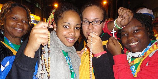 Jovens do Caribe / Foto: Elcka Torres - CN