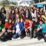 Peregrinos passam pela CN depois da JMJ Rio 2013