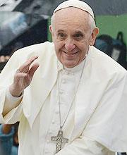 Papa Francisco durante a JMJ Rio 2013. Foto: Robson Siqueira / CN