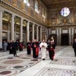 Papa consagra à Nossa Senhora sua viagem ao Brasil