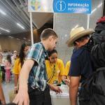 Peregrinos chegam ao Rio de Janeiro para JMJ