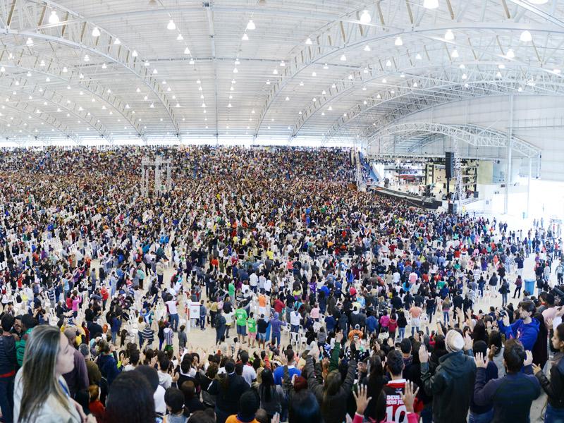 Inauguração do Centro de Evangelização Dom João Hipólito de Moraes