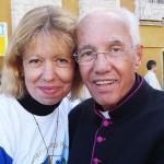 Sacerdote que me faz ousar na fé, destacou Maria das Graças