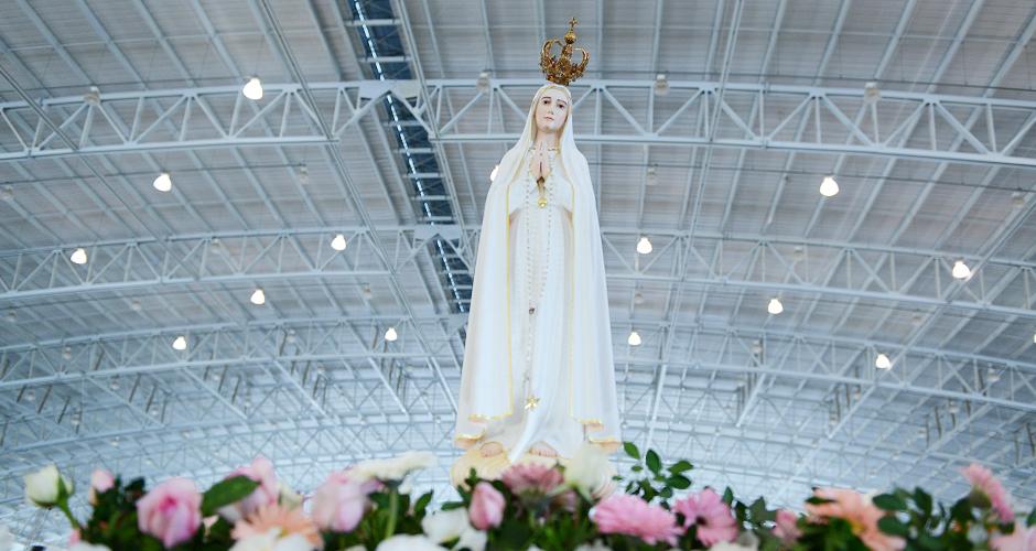 Maria se faz presente na minha vida, diz monsenhor Jonas