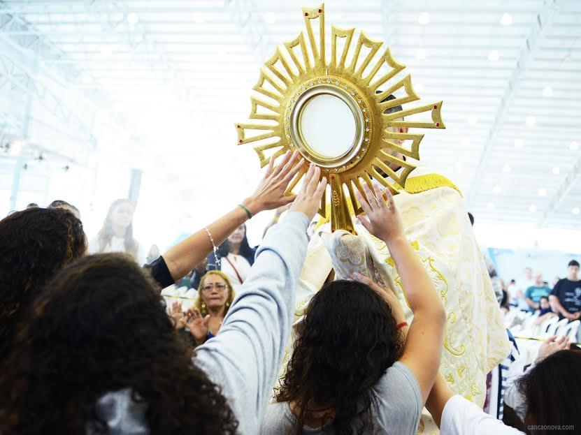 Na eucaristia encontramos a paz