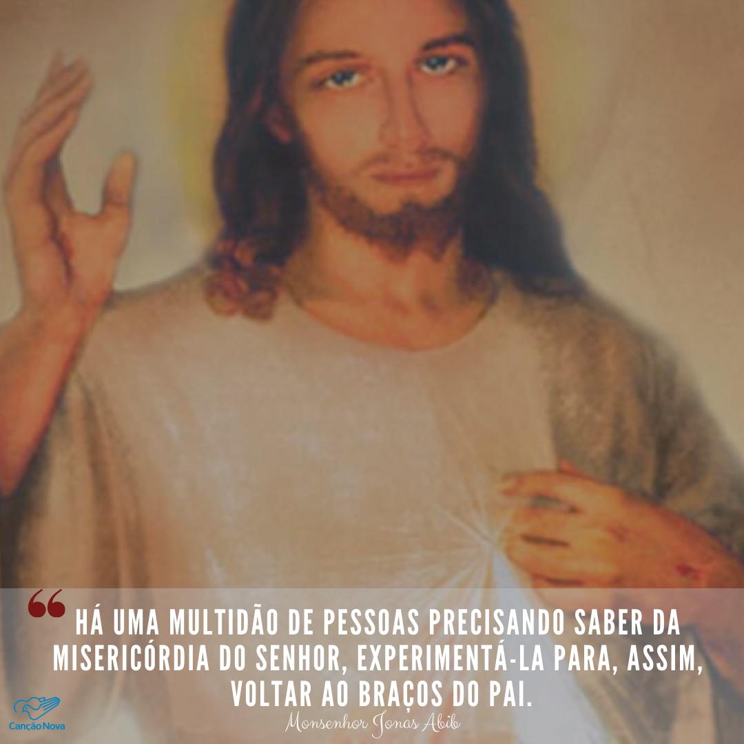 A misericordia do Senhor!