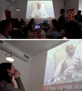 Papa na tv